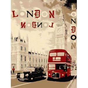 Pop Art Χαλί φριζέ London