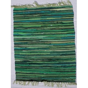 Κουρελού μονόχρωμη βαμβακερή εσωτερικού χώρου 201 Green