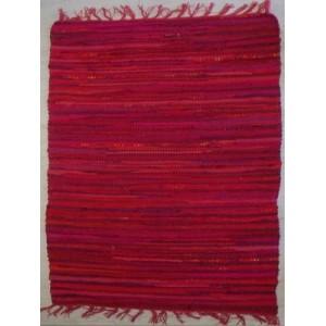Κουρελού μονόχρωμη βαμβακερή εσωτερικού χώρου 358 Red