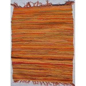 Κουρελού μονόχρωμη βαμβακερή εσωτερικού χώρου 732 Orange